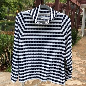 🌺 Madewell Navy/White Striped Sweater Misses XL!
